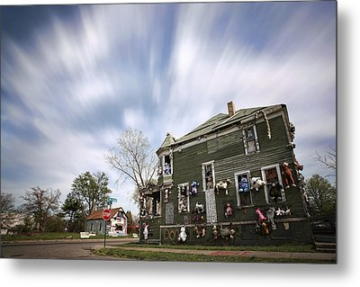 The Stuffed Animal Doll House At The Heidelberg Project - Detroit Michigan Metal Print