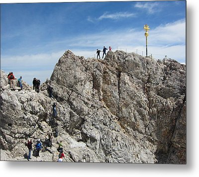 Metal Print featuring the photograph The  Summit - 1 by Pema Hou