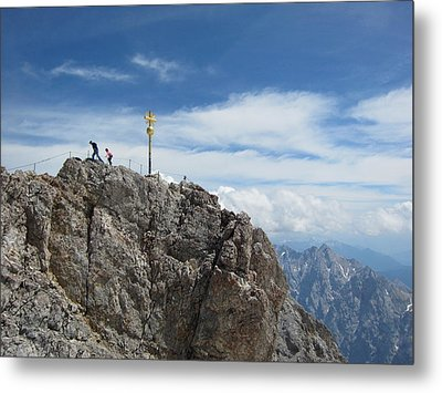 Metal Print featuring the photograph The Summit by Pema Hou