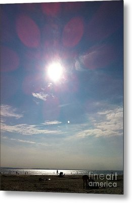 The Sun And The Moon - Witterings Sussex England Metal Print