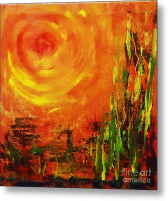 The Sun At The End Of The World Metal Print