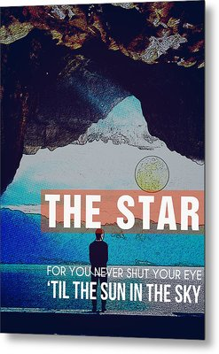 The Sun In The Sky Metal Print by Celestial Images