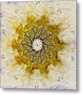 The Sundial Metal Print by Deborah Benoit