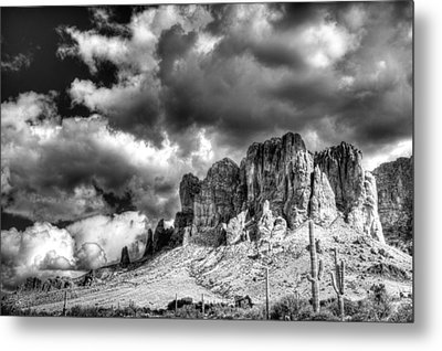 The Superstitions  Metal Print by Saija  Lehtonen