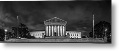 The Supreme Court Metal Print by David Morefield
