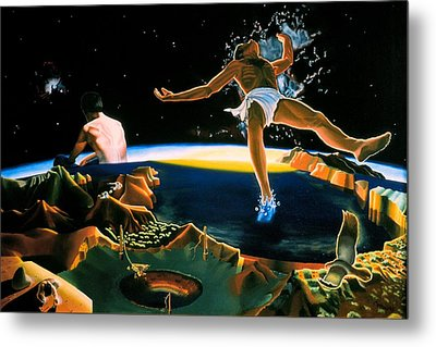 The Surreal Cosmologist Metal Print by Dave Martsolf