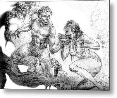 The Survivor Metal Print by Manuel Cadag