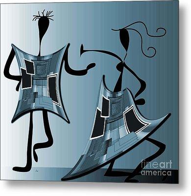 The Swingers Metal Print by Iris Gelbart