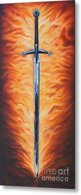 The Sword Of The Spirit Metal Print