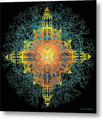 The Tabernacle Metal Print by Michael Durst