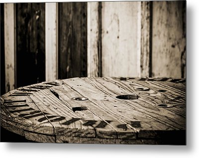 Metal Print featuring the photograph The Table by Amber Kresge