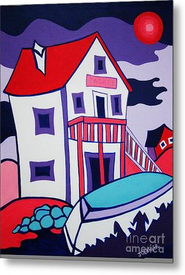 The Tackle House Metal Print by Joyce Gebauer