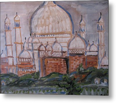 The Taj Metal Print by Vikram Singh