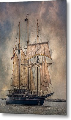 The Tall Ship Peacemaker Metal Print by Dale Kincaid