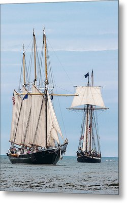 The Tall Ships Metal Print by Dale Kincaid