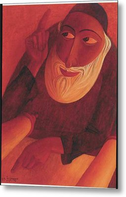 The Talmudist Metal Print