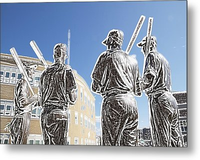 The Teammates Metal Print by Alice Gipson