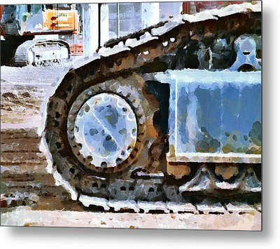 The Tears Of My Tracks Metal Print