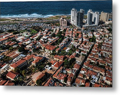 Metal Print featuring the photograph the Tel Aviv charm by Ron Shoshani