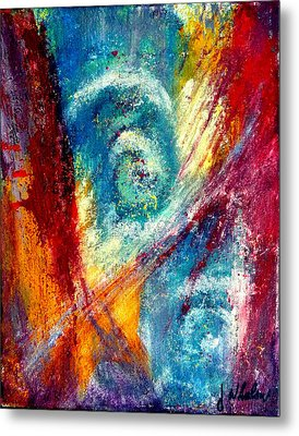 Metal Print featuring the painting The Tempest by Jim Whalen