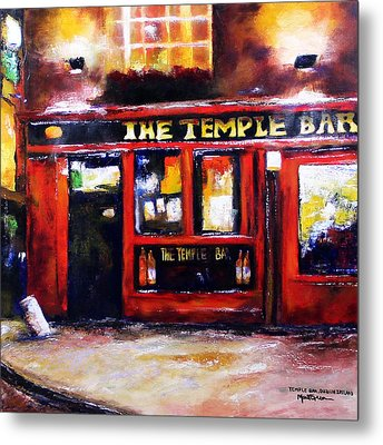 The Temple Bar Metal Print by Marti Green