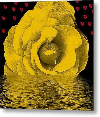 The Temple Of The Hearts Metal Print by Pepita Selles