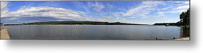 The Tennessee River In Alabama Metal Print by Verana Stark