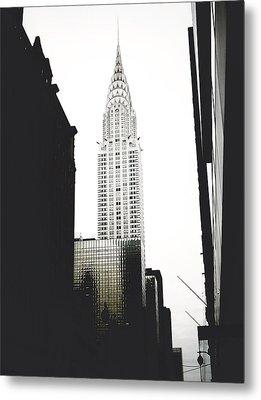 The Terraced Crown Of Manhattan Metal Print