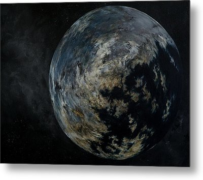 Old World Metal Print