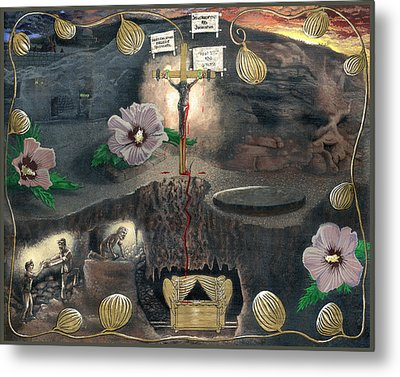 The Testimony Of Ron Wyatt - Ark Of The Covenant Metal Print