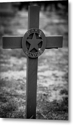 The Texas Ranger Metal Print
