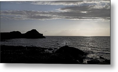 The Thinker -- Giant's Causeway --ireland Metal Print