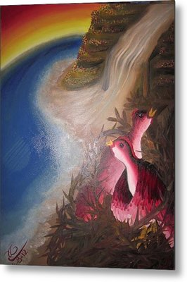 The Thorn Birds Metal Print