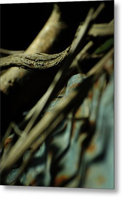 The Thread Metal Print