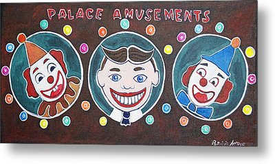 The Three Amigos Metal Print by Patricia Arroyo