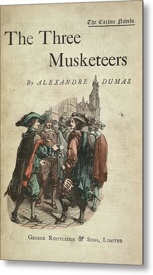 The Three Musketeers Metal Print by British Library