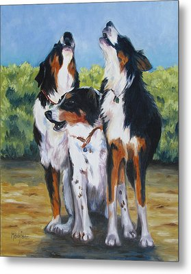 The Three Tenors Metal Print