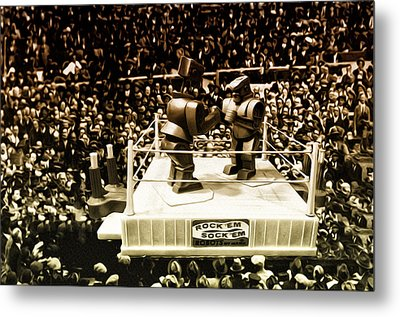 The Thrilla In Toyvilla Metal Print by Bill Cannon