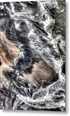 The Tide From Above Metal Print by Bob Hislop