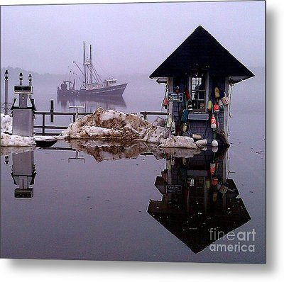 The Tide Is Rising Metal Print