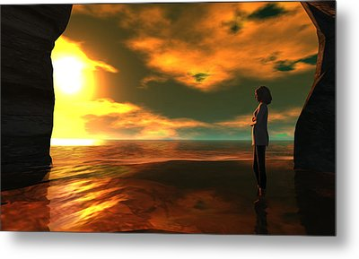 The Tide Metal Print by Whiskey Monday