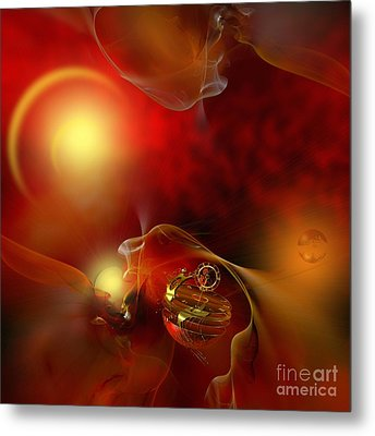 The Time Born In The Shine Of His Majesty Metal Print