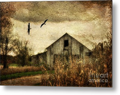 The Times They Are A Changing Metal Print by Lois Bryan
