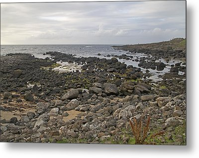 The Timing Of Stone -- Giant's Causeway -- Ireland Metal Print