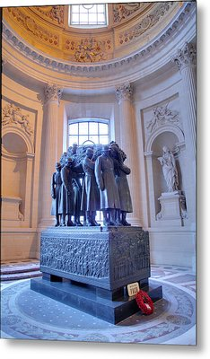 The Tombs At Les Invalides - Paris France - 011316 Metal Print by DC Photographer