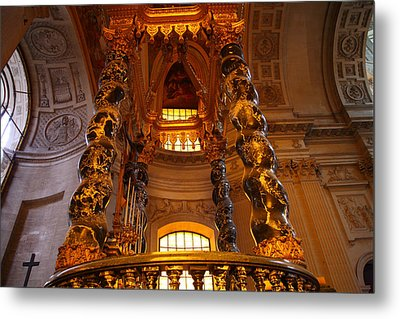 The Tombs At Les Invalides - Paris France - 011323 Metal Print by DC Photographer