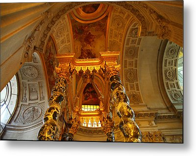 The Tombs At Les Invalides - Paris France - 011324 Metal Print by DC Photographer