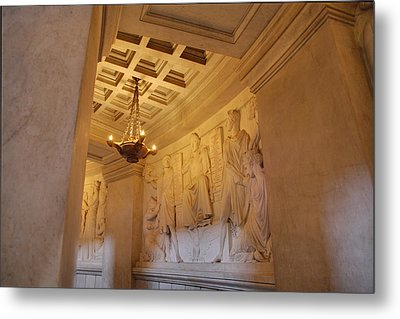 The Tombs At Les Invalides - Paris France - 011329 Metal Print by DC Photographer