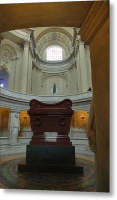 The Tombs At Les Invalides - Paris France - 011330 Metal Print