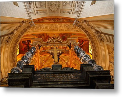 The Tombs At Les Invalides - Paris France - 011337 Metal Print by DC Photographer